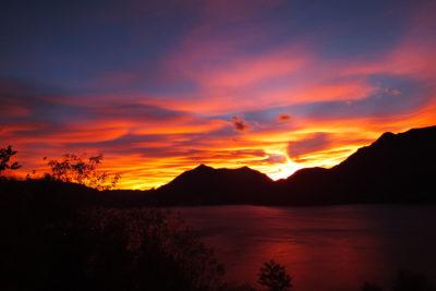tramonto borgo verginate